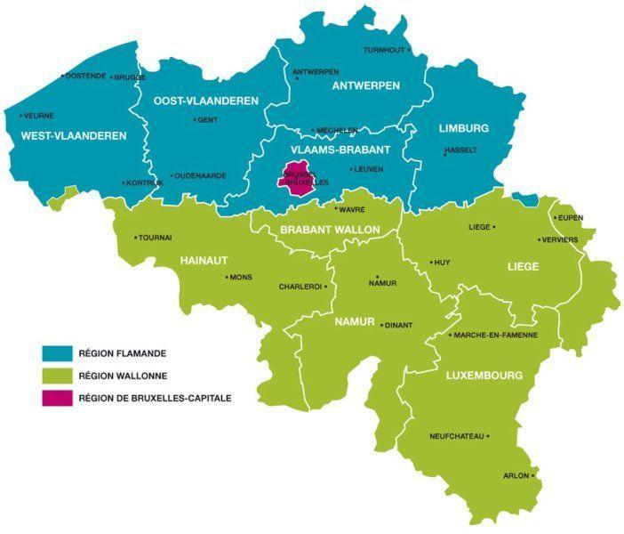 Belgique communaute francaise province 1