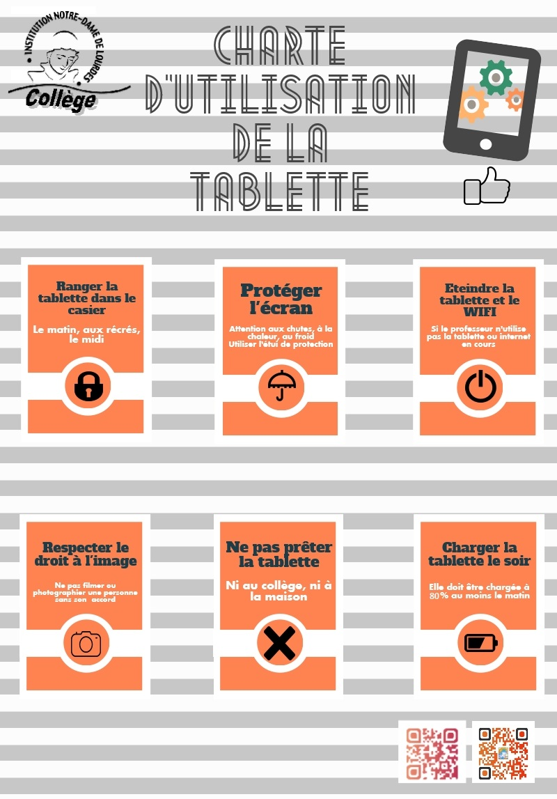 Infographie tablette 2018